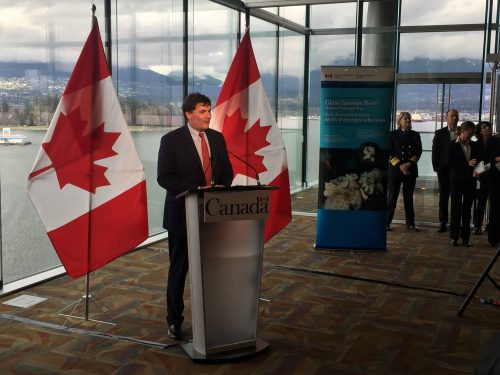 Minister LeBlanc announces protection of the glass sponge reefs